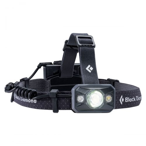 Mens Black Diamond Icon Head Torch in Black