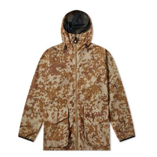 MensArk Air Rain & Mesh Parka Jacket in Vista Camo