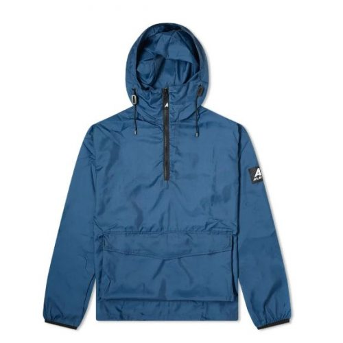 Mens Ark Air Stowaway Anorak Jacket in Urban Navy