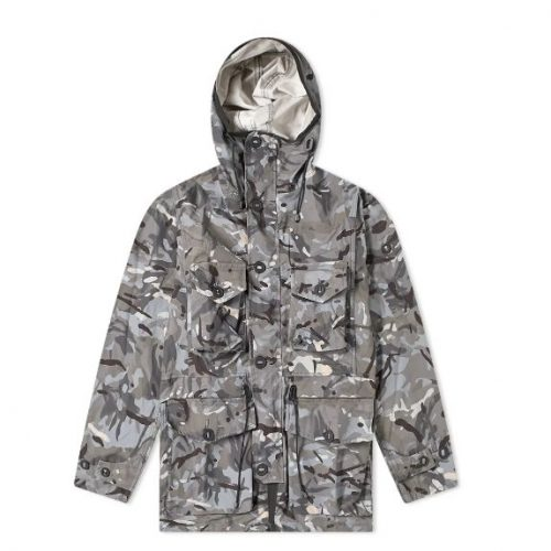Mens Ark Air Unlined Smock Jacket in Vista & Tropical Camo