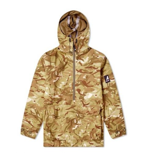 Mens Ark Air Waterproof Hooded Mammoth Jacket in Vista & Tropical Camo