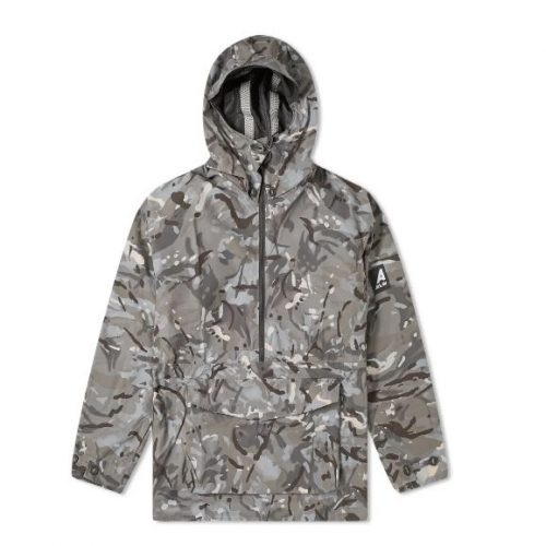 Mens Ark Air Waterproof Hooded Mammoth Jacket in Vista & Urban Camo
