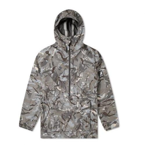 MensArk Air Waterproof Hooded Mammoth Jacket in Vista & Urban Camo