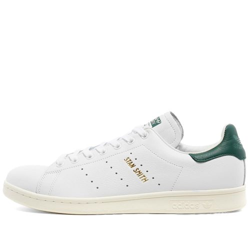 Mens Adidas Stan Smith Sneakers in White and Gold