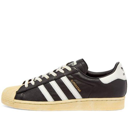 MensAdidas Superstar Sneakers in Black & White