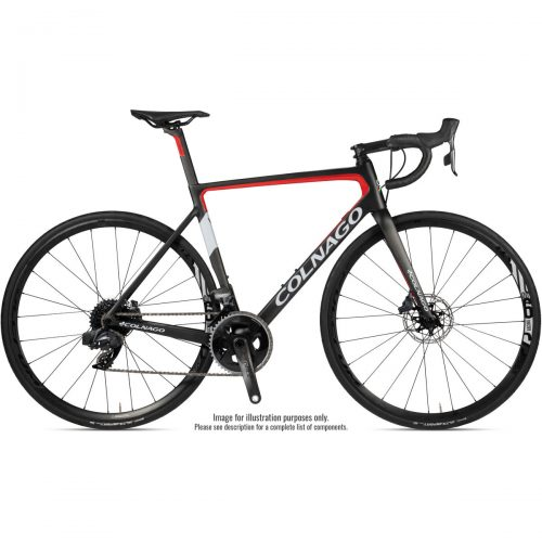 Mens Colnago V3 Disc Ultegra Road Bike (2020) in Black