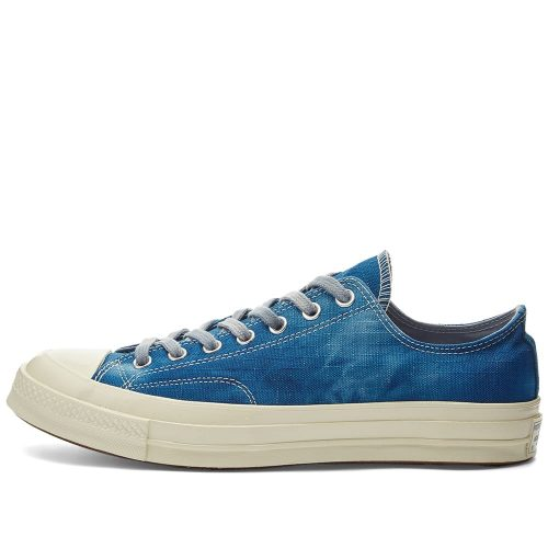 Mens Converse Chuck Taylor 1970s Ox Sneakers in Blue Tie-dyed Canvas