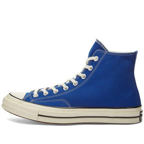 MensConverse Chuck Taylor 1970s Hi Sneakers in Cobalt Blue