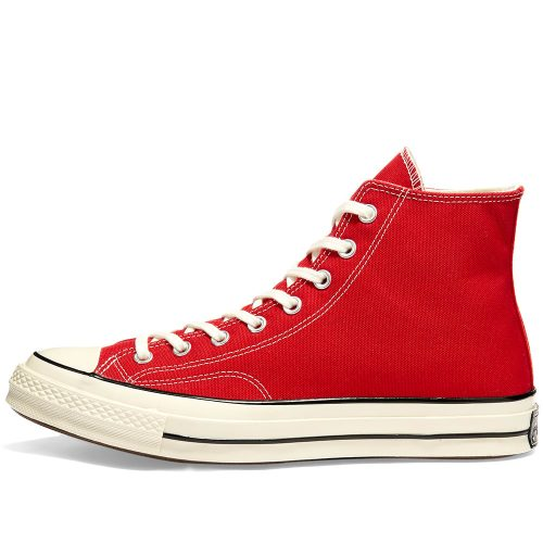 Mens Converse Chuck Taylor 1970s Hi Sneakers in Red Canvas