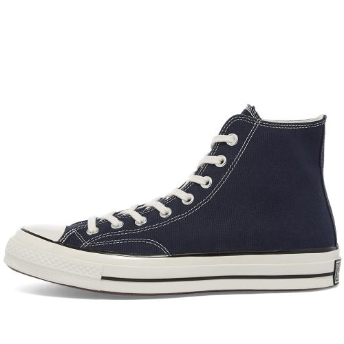 Mens Converse Chuck Taylor 1970s Hi Sneakers in Obsidian Blue Canvas