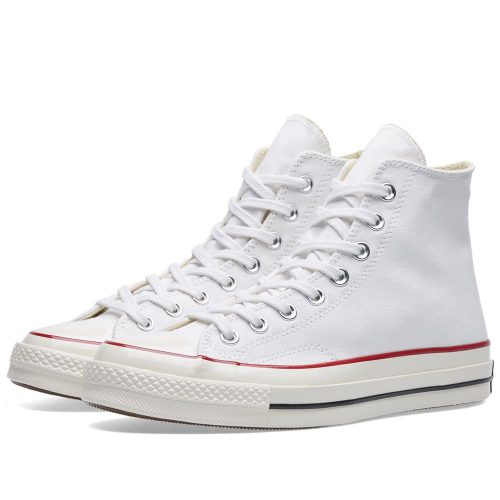 Mens Converse Chuck Taylor 1970s Hi Sneakers in Classic White
