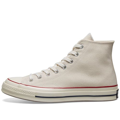 Mens Converse Chuck Taylor 1970s Hi Sneakers in Parchment White