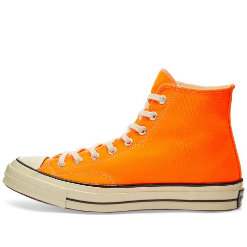 MensConverse Chuck Taylor 1970s Hi Sneakers in Yellow Canvas