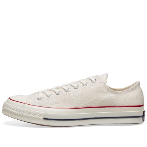 MensConverse Chuck Taylor 1970s Ox Sneakers in White Canvas