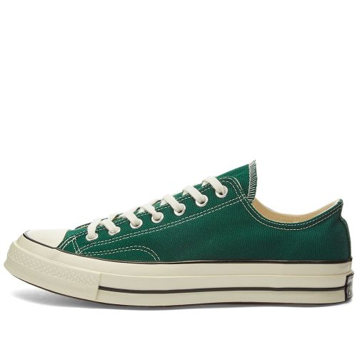 Mens Converse Chuck Taylor 1970s Ox Sneakers in Dark Clover Green