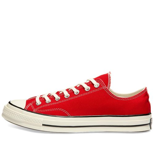 Mens Converse Chuck Taylor 1970s Ox Sneakers in Bright Red