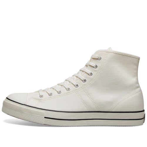 Mens Converse Lucky Star Hi Sneakers in White