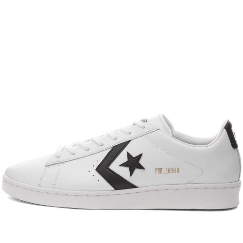 Mens Converse Pro Leather OG Ox Sneakers in Black and White