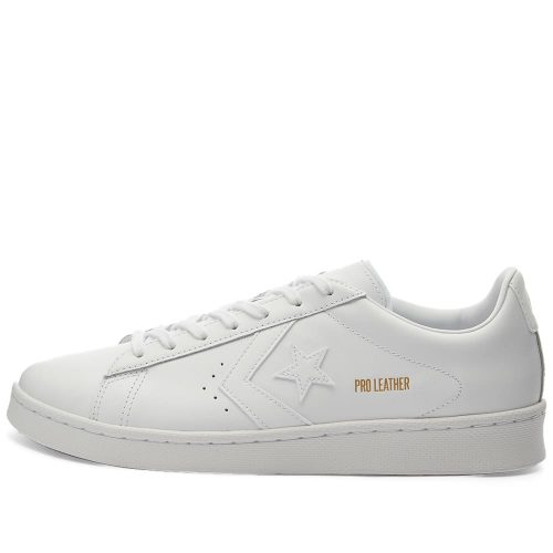 Mens Converse Pro Leather OG Ox Sneakers in All White
