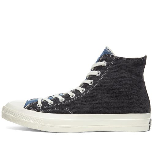Mens Converse Chuck Taylor 1970s Hi Sneakers in Renew Denim Blue