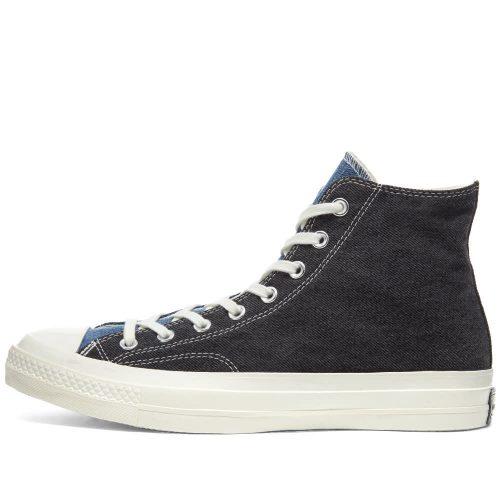 MensConverse Chuck Taylor 1970s Hi Sneakers in Renew Denim Blue