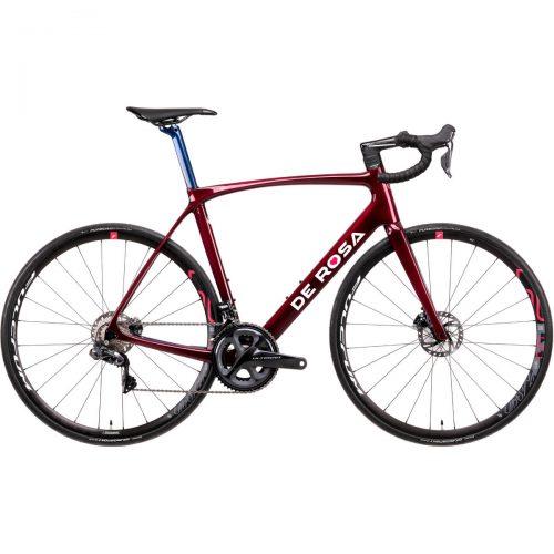 MensDe Rosa IDOL Ultegra Di2 Racing Bike in Red