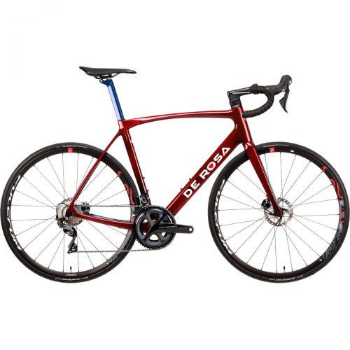MensDe Rosa IDOL Ultegra Racing Bike in Red