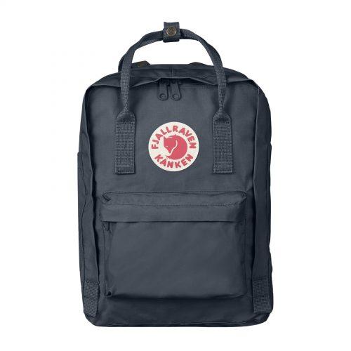 Mens Fjallraven Kanken 13 Laptop Backpack in Graphite