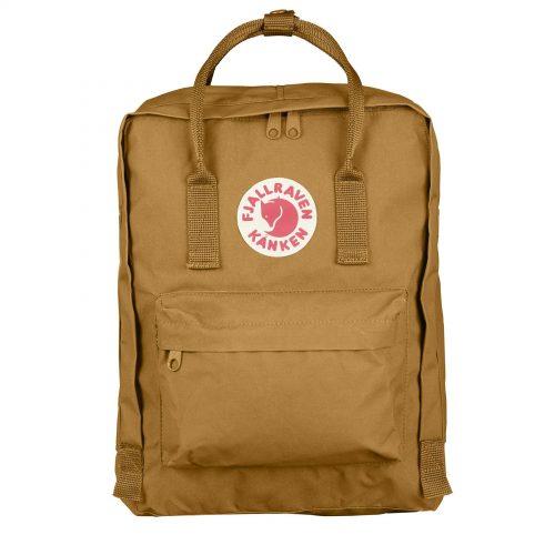Mens Fjallraven Kanken Classic Backpack in Acorn