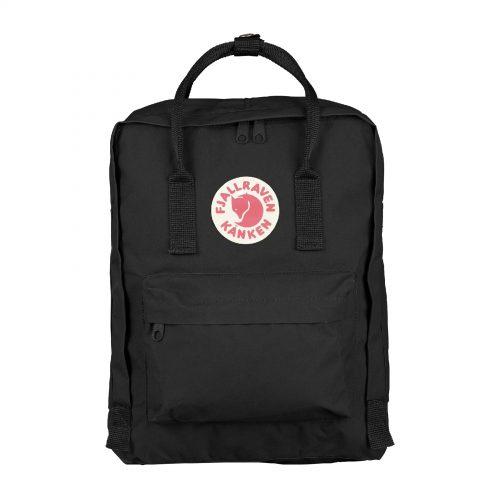 Mens Fjallraven Kanken Classic Backpack in Black