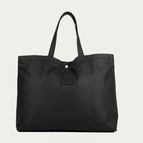 Mens Malle London Lawrence Lightweight Tote Bag in All Black