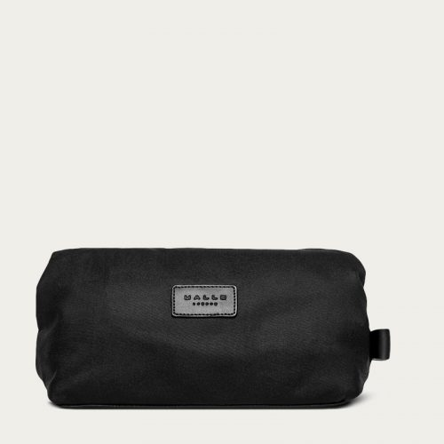 Mens Malle London Wash Bag in All Black