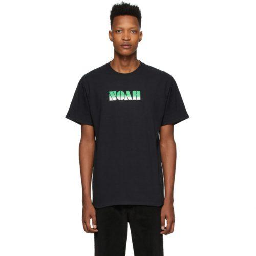 MensNoah NYC Gradient Logo T-Shirt in Black