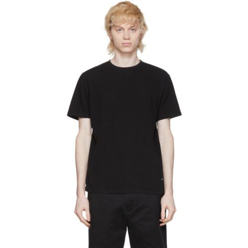 MensNoah NYC Recycled Cotton T-Shirt in Black