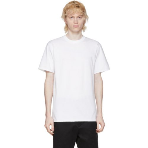MensNoah NYC Recycled Cotton T-Shirt in White