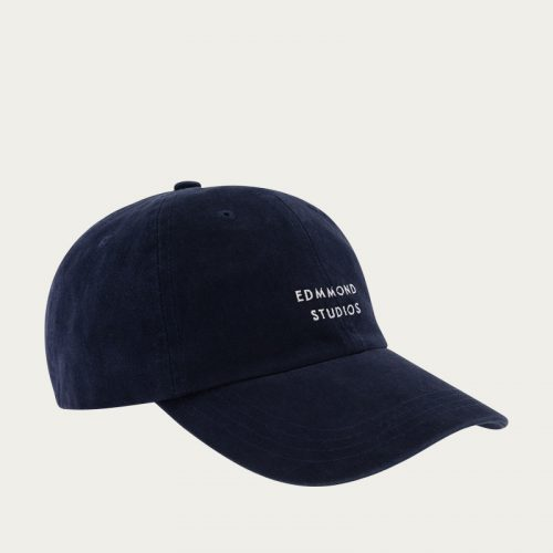 Mens Edmmond Studios Logo Cap II in Navy