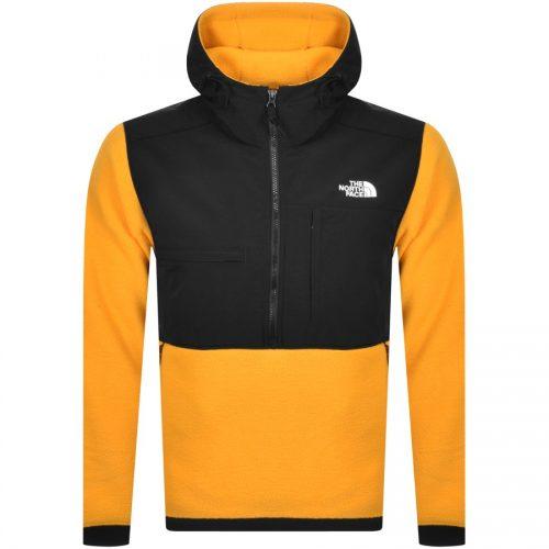 MensThe North Face Denali 2 Anorak Jacket in Yellow