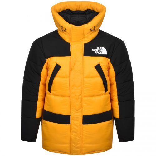 MensThe North Face Himalayan Insulated Parka Jacket in Yellow