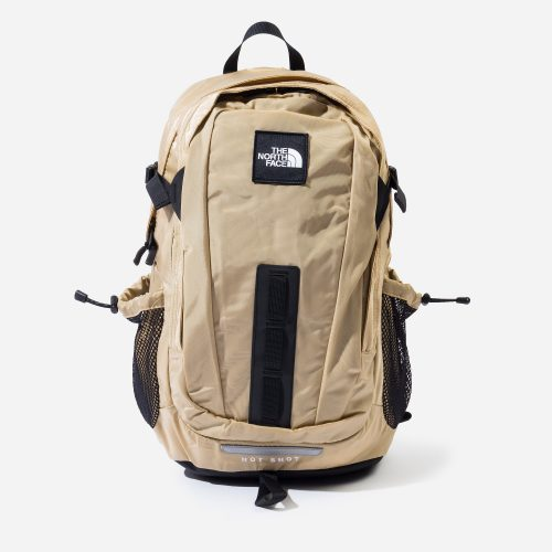 Mens The North Face Hot Shot Backpack in Tan