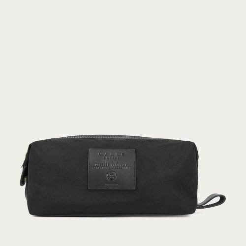 Mens Malle London Wash Bag in Black Out