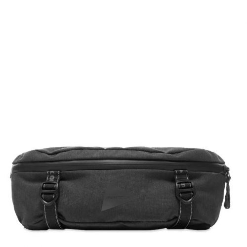 Mens And Wander Heather Waist Bag in Charcoal