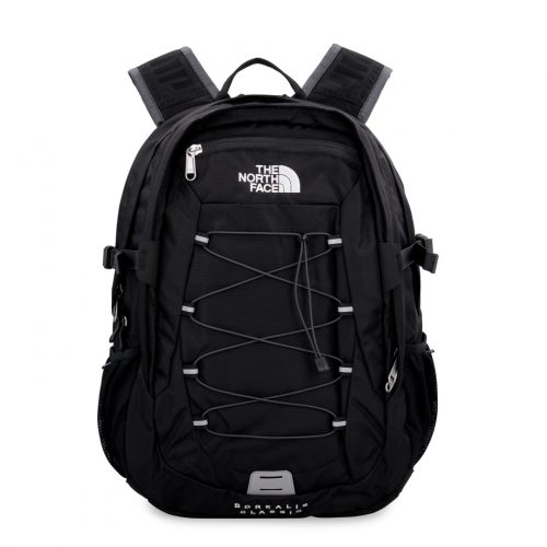 Mens The North Face Borealis Technical Fabric Backpack in Black