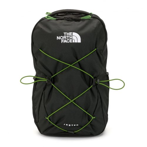 MensThe North Face Jester Lace-up Backpack in Black Heather / Adder Green