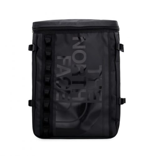Mens The North Face Logo Print Backpack in Black