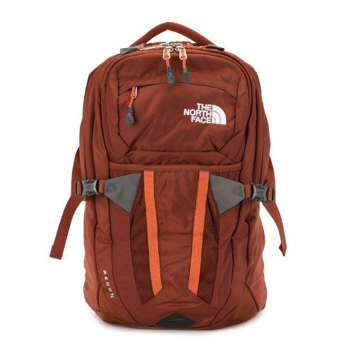 MensThe North Face Recon Logo Backpack in Orange