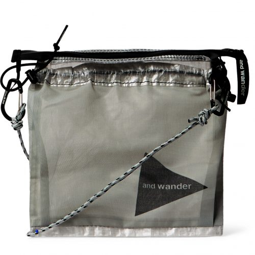 MensAnd Wander Cuben Fibre Messenger Bag in White