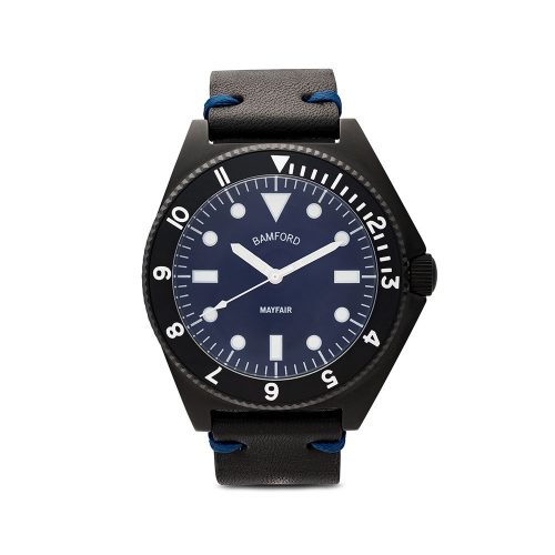 Mens Bamford Watch Department Bamford Mayfair Watch in Black and Navy