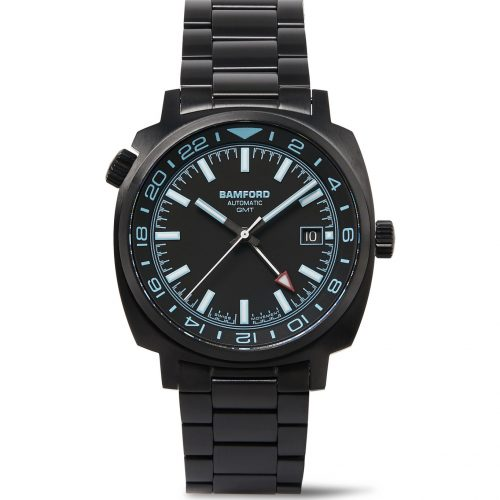 Mens Bamford Watch Department GMT Automatic Watch in Black