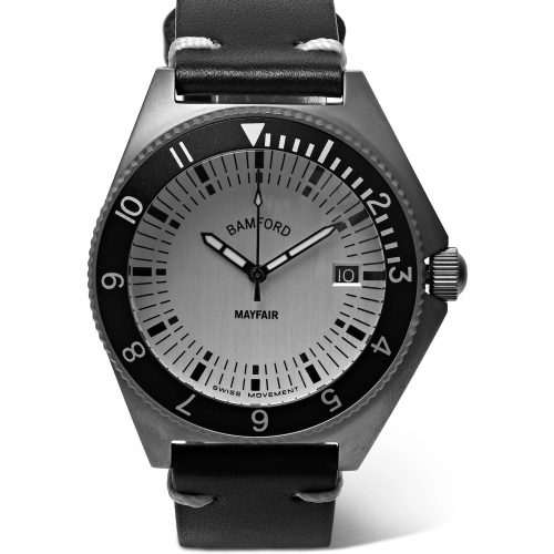 Mens Bamford Watch Department Mayfair Stainless Steel Watch in Silver