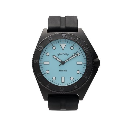 Mens Bamford Watch Department Mayfair Sport 40mm Watch in Black and Blue